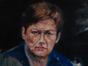 portret kobiety, obraz na zamówienie