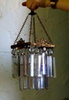mały żyrandol kryształowy, sprzedaż antyków