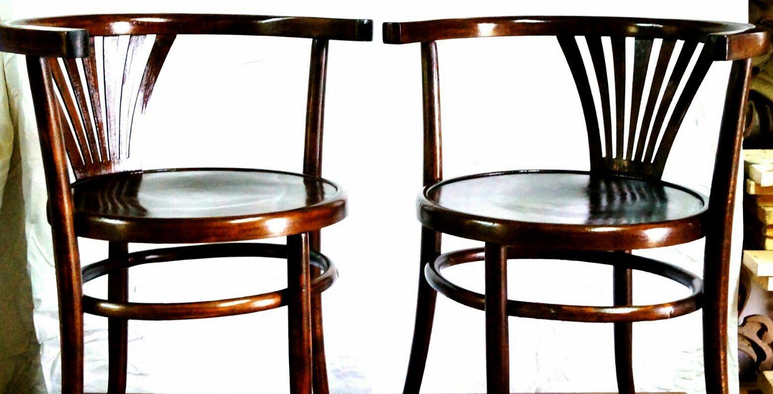 krzesła po renowacji