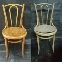 krzesło Thonet przed i po