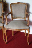 krzesło w stylu Ludwik XV