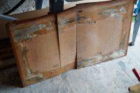 czereśniowa komoda, renowacja antyków, odnawianie mebli