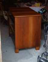 czereśniowa komoda, renowacja komody, olejowanie drewna, renowacja wrocław, antykikr