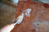 czereśniowa komoda, renowacja mebli wrocław, antykikr