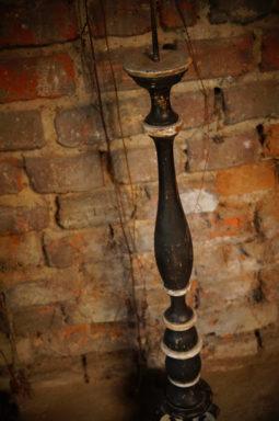 lichtarze, drewniane świeczniki, antyki Wrocław, antykikr