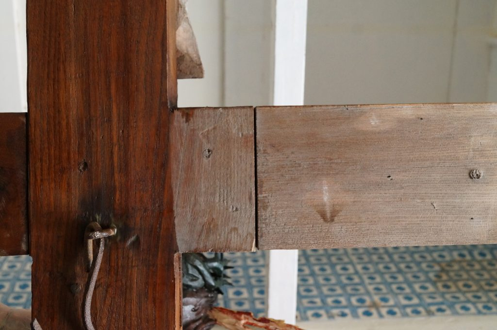 renowacja barokowego krucyfiksu, renowacja krzyża
