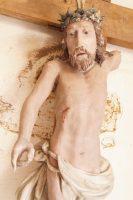 renowacja barokowego krucyfiksu, antykikr
