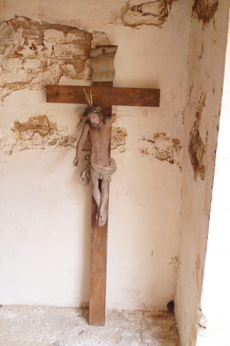 renowacja barokowego krucyfiksu, antykikr,