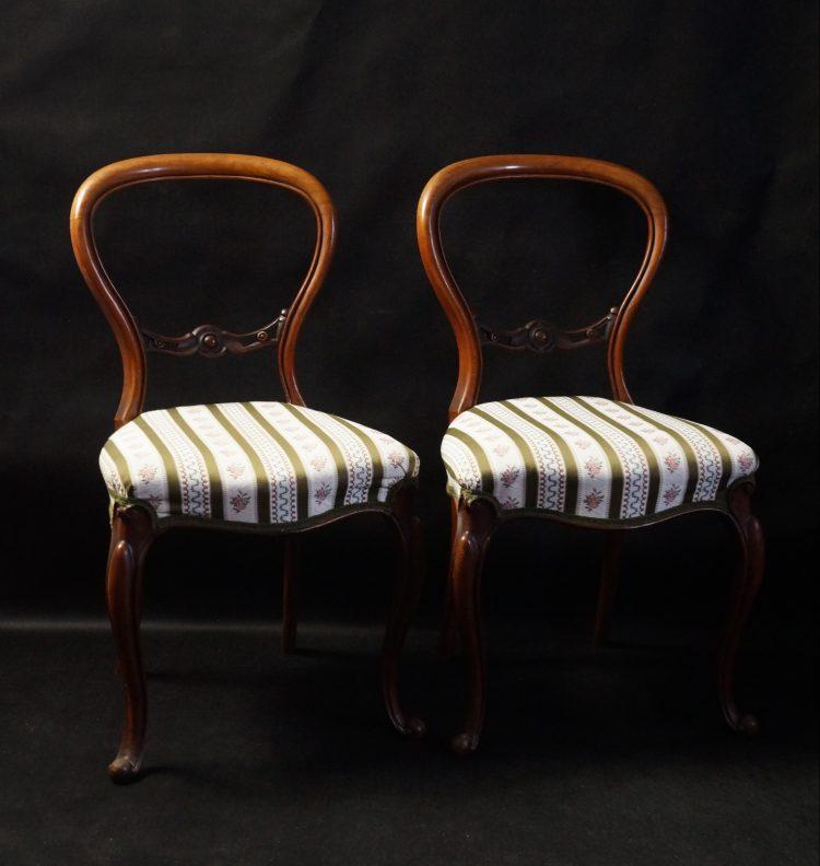 balloon back chairs, antykikr, krzesła, antyki wrocław